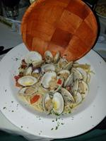 Linguini with fresh native littleneck clams